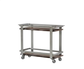 Emerald Home Sommerville Bar Cart Mahogany Ac205-07 Product Image