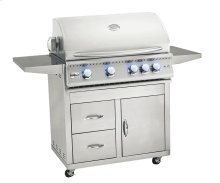 """Pro Series Fully Assembled Door & 2-Drawer Combo Cart for 32"""" Sizzler & Sizzler Pro"""