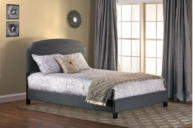 Lani Twin Bed - Dark Grey