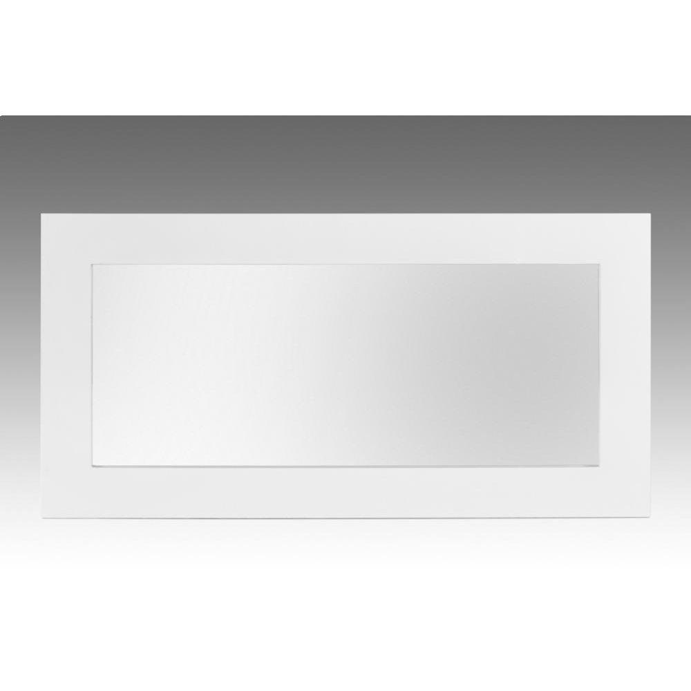 Modrest Bonita Modern White Mirror