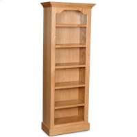 "Classic Tall Category IV Bookcase, Classic Tall Category IV Bookcase, 4-Adjustable Shelves, 28""w Product Image"
