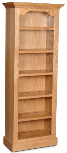 """Classic Tall Category IV Bookcase, Classic Tall Category IV Bookcase, 4-Adjustable Shelves, 28""""w"""