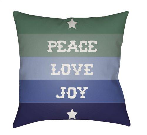 """Peace Love Joy HDY-078 20"""" x 20"""""""