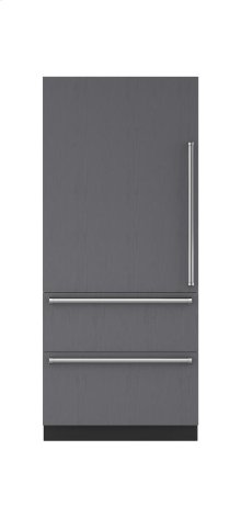 """36"""" Integrated Over-and-Under Refrigerator - Panel Ready"""