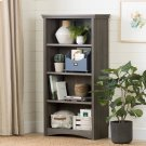 4-Shelf Bookcase - Gray Maple Product Image