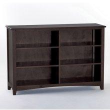 Horizontal Bookcase (Chocolate)