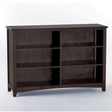 Horizontal Bookcase (Chocolate)