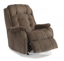 Cassidy Fabric Power Rocking Recliner