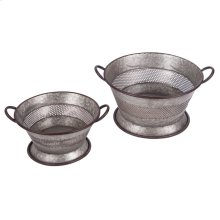 Strainer Baskets, Set of 2