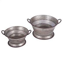 Strainer Baskets, Set of 2