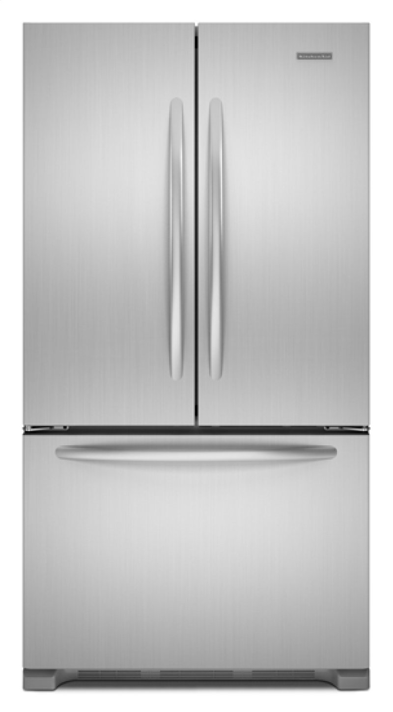 Best Counter Depth Refrigerator 2015 >> Kfcs22evms In Monochromatic Stainless Steel By Kitchenaid In