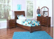 Sheridan 3/3 Twin Lounge Bed - Mirror