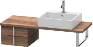 Vero Low Cabinet For Console Compact, Natural Walnut (decor)