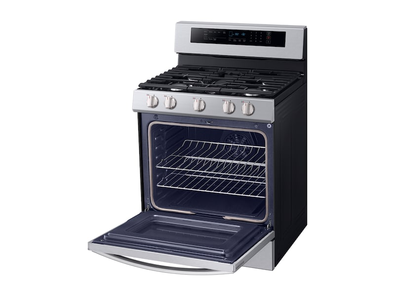5.8 cu. ft. Freestanding Gas Range with True Convection in Stainless Steel Photo #5