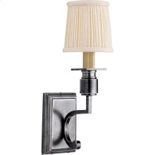 Visual Comfort SC2106AS Eric Cohler Tyler 1 Light 4 inch Antique Silver Decorative Wall Light