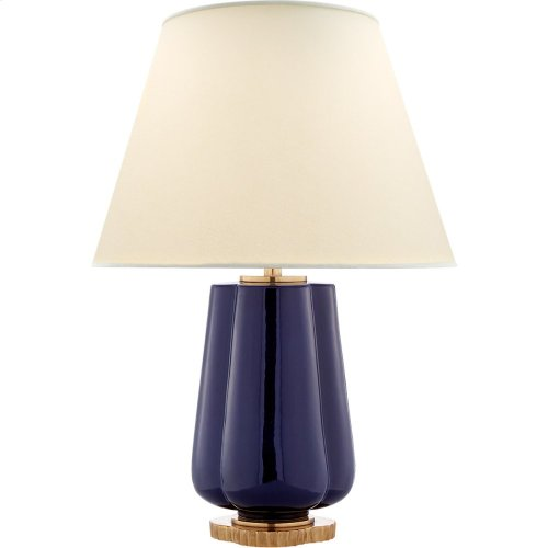 Visual Comfort AH3125DM-PL Alexa Hampton Eloise 26 inch 60 watt Denim Porcelain Table Lamp Portable Light