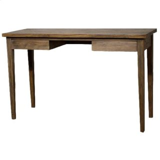 Panca Desk, Coffee Glaze