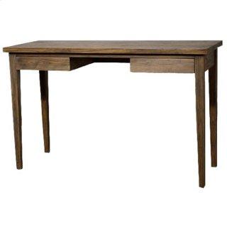 Panca Desk, Coffee Glaze