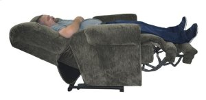 """""""Lay Flat"""" Recliner w/Ext Otto - Slate"""