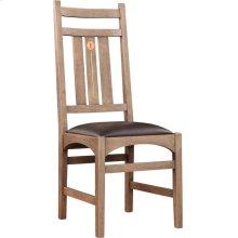 Oak Dragonfly Side Chair