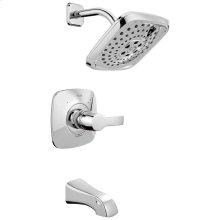 Chrome Monitor ® 14 Series H2Okinetic ® Tub & Shower Trim