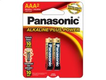 Alkaline Plus Power AAA 2-Pack