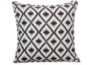 small: Plum Ikat cushion Product Image