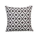 large: Plum Ikat cushion Product Image