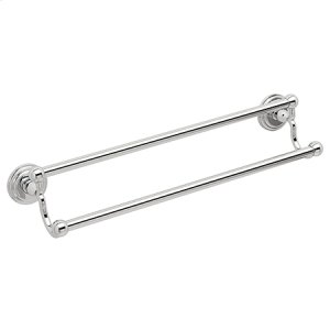 "Polished-Chrome 32"" Double Towel Bar Product Image"