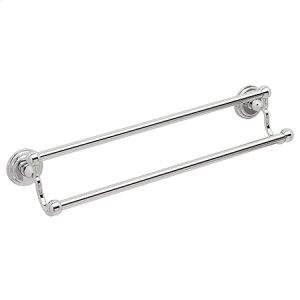 "Polished-Chrome 32"" Double Towel Bar Product Image"