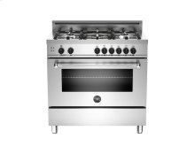 36 5-Burner, Gas Oven Stainless***FLOOR MODEL CLOSEOUT PRICE***