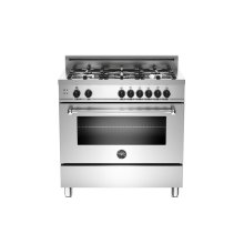 36 5-Burner, Gas Oven Stainless***FLOOR MODEL CLOSEOUT PRICING***