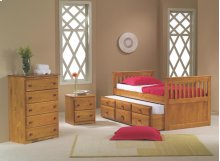 Twin Mission Captains Trundle Bed