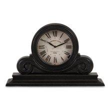Windsor Black Mantle Clock