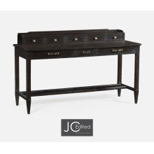 Dark Ale Plank Buffet with Strap Handles