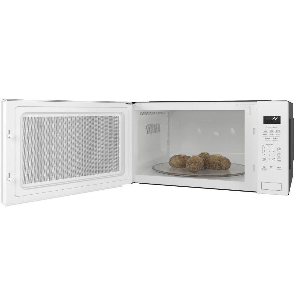 Ge Profile Series 2 Cu Ft Built In Sensor Microwave Oven
