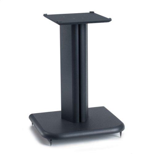 Black Basic Series 16 inches tall for medium to large bookshelf speakers