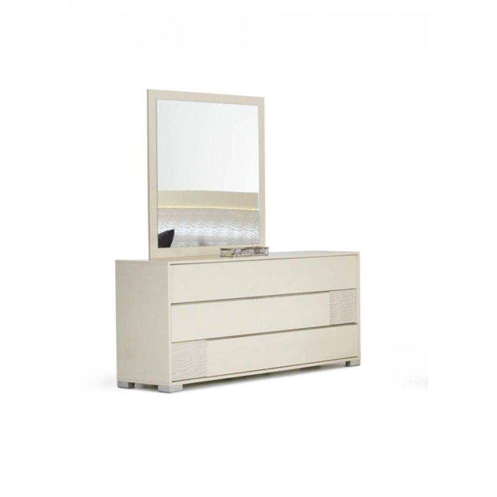 Modrest Grace Italian Modern Beige Mirror