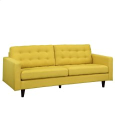 Empress Upholstered Sofa in Sunny Product Image