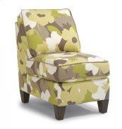 Westside Fabric Armless Chair