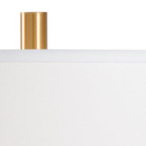 Savoy Lamp - Antique Brass