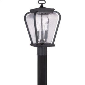Province Outdoor Lantern in Mystic Black