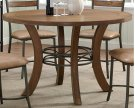 Avery Wood Plank Round Dinette Product Image