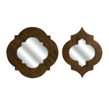 CKI Cronus Wood Frame Mirror - Set of 2