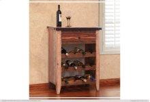 1 Drawer, 3 Bottle holder shelves - Multicolor Finish