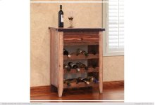 1 Drawer, 3 Bottle holder shelves - Multicolor Finish