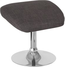 Egg Series Dark Gray Fabric Ottoman