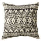 Diamond Tribal Block Print Pillow (Each One Will Vary). Product Image