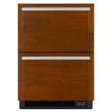 "Jenn-Air® Panel-Ready 24"" Refrigerator/Freezer Drawers - Panel Ready"