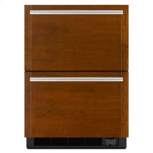 "Jenn-Air® Panel-Ready 24"" Refrigerator/Freezer Drawers - Panel Ready"